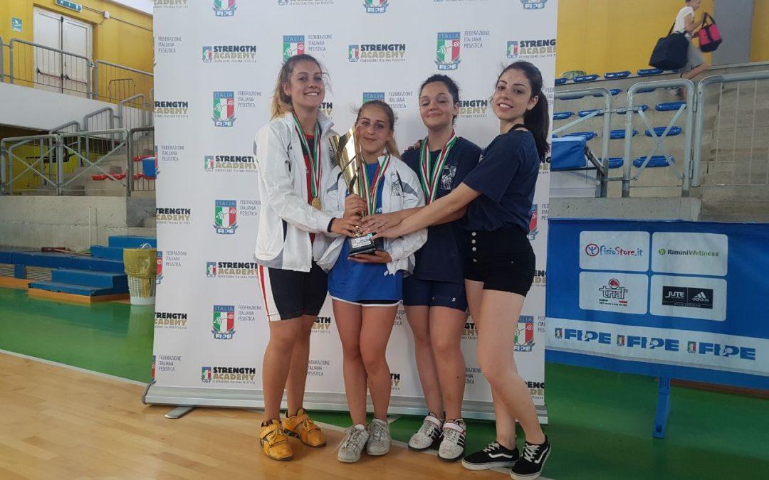 Le donne dominano i campionati italiani esordienti 2017