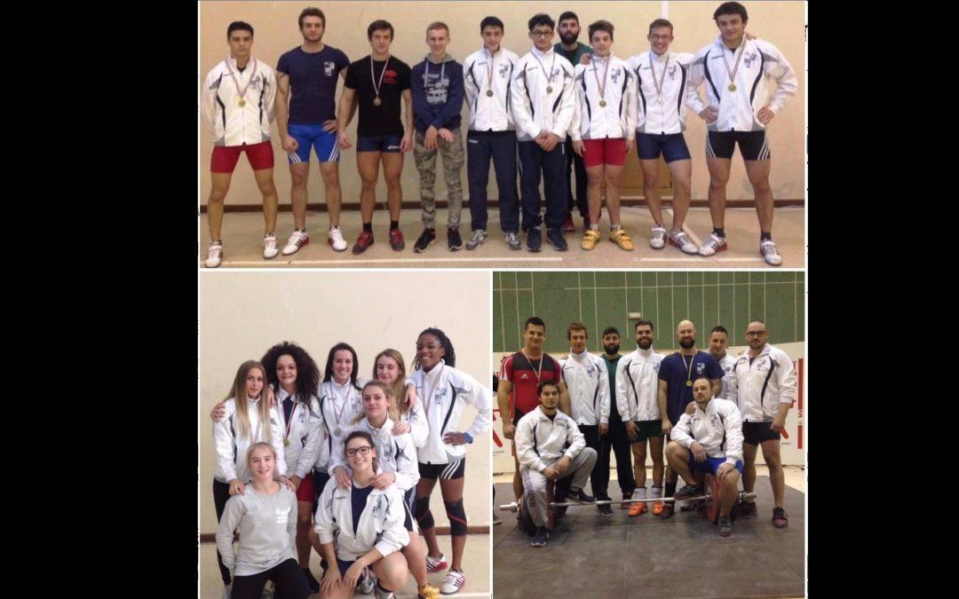 Campionati regionali assoluti 2017